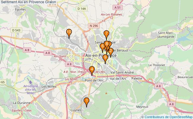 plan Sentiment Aix en Provence Associations Sentiment Aix en Provence : 10 associations