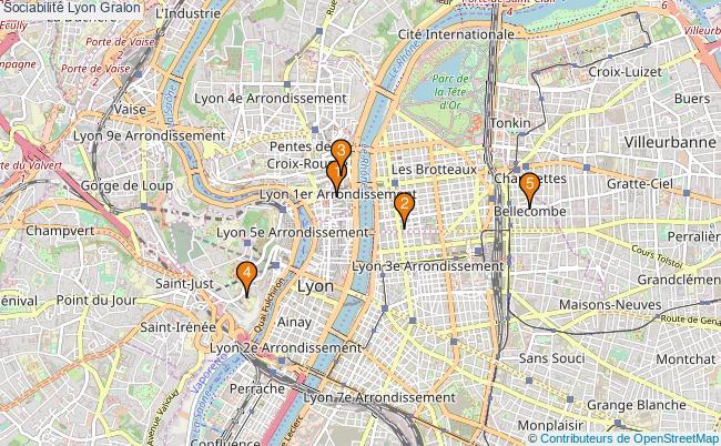 plan Sociabilité Lyon Associations sociabilité Lyon : 5 associations