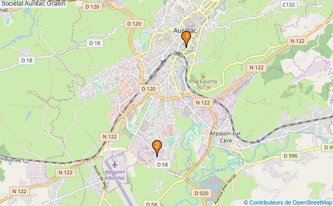 plan Sociétal Aurillac Associations Sociétal Aurillac : 2 associations