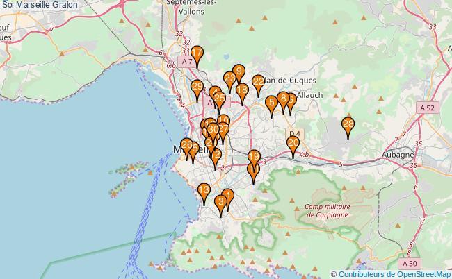plan Soi Marseille Associations Soi Marseille : 170 associations