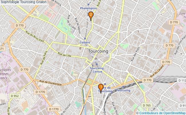 plan Sophrologie Tourcoing Associations sophrologie Tourcoing : 3 associations