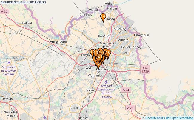 plan Soutien scolaire Lille Associations soutien scolaire Lille : 23 associations