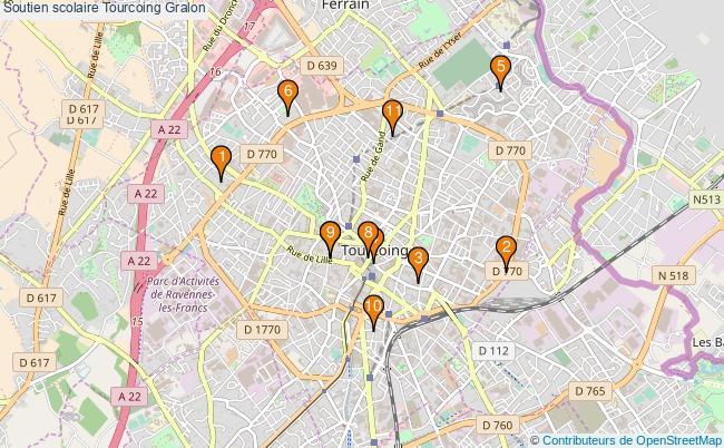 plan Soutien scolaire Tourcoing Associations soutien scolaire Tourcoing : 11 associations