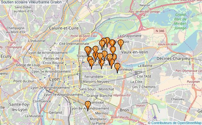 plan Soutien scolaire Villeurbanne Associations soutien scolaire Villeurbanne : 22 associations