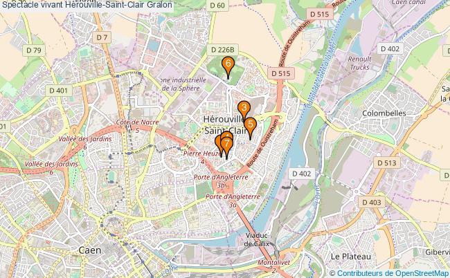 plan Spectacle vivant Hérouville-Saint-Clair Associations spectacle vivant Hérouville-Saint-Clair : 7 associations