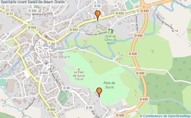 plan Spectacle vivant Salies-de-Béarn Associations spectacle vivant Salies-de-Béarn : 4 associations