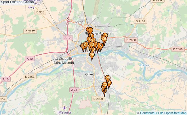 plan Sport Orléans Associations Sport Orléans : 85 associations
