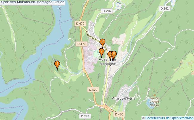 plan Sportives Moirans-en-Montagne Associations Sportives Moirans-en-Montagne : 7 associations
