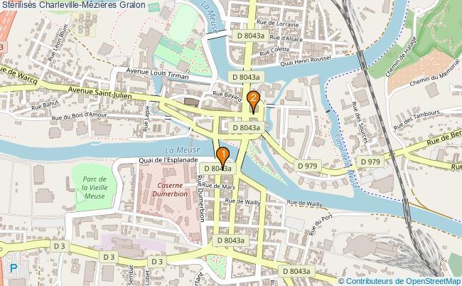 plan Stérilisés Charleville-Mézières Associations stérilisés Charleville-Mézières : 2 associations