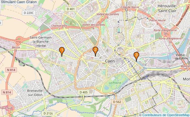 plan Stimulant Caen Associations Stimulant Caen : 4 associations