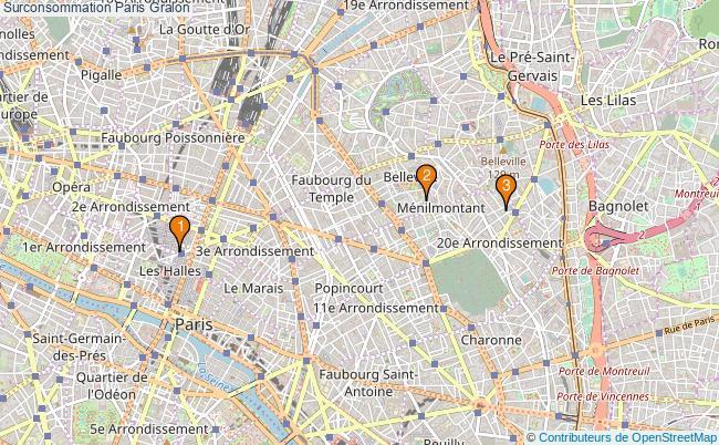 plan Surconsommation Paris Associations surconsommation Paris : 3 associations