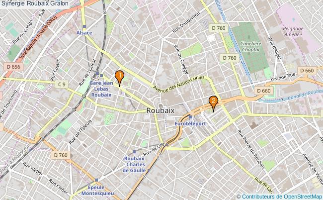 plan Synergie Roubaix Associations synergie Roubaix : 2 associations