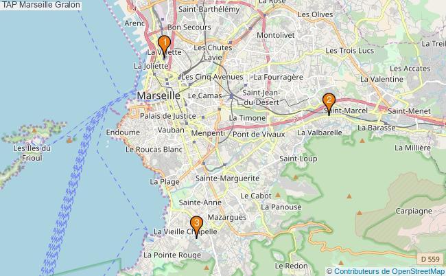 plan TAP Marseille Associations TAP Marseille : 3 associations