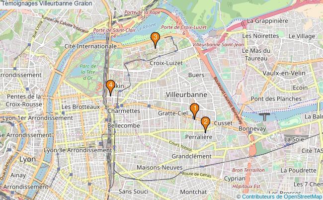 plan Témoignages Villeurbanne Associations Témoignages Villeurbanne : 5 associations