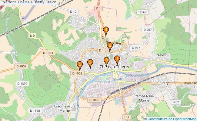 plan Tolérance Château-Thierry Associations tolérance Château-Thierry : 6 associations