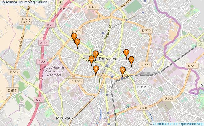 plan Tolérance Tourcoing Associations tolérance Tourcoing : 9 associations