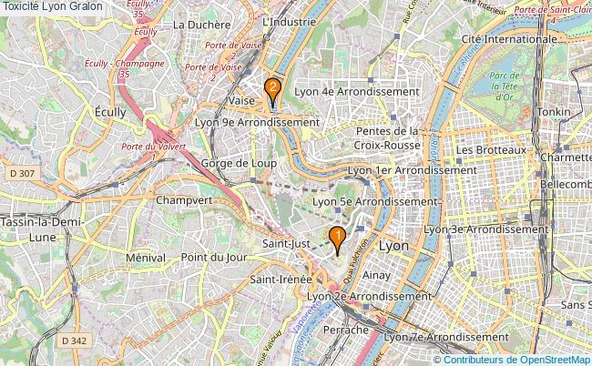 plan Toxicité Lyon Associations toxicité Lyon : 2 associations