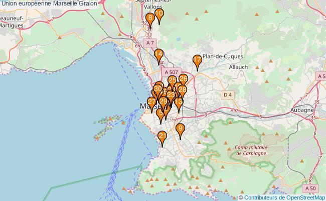 plan Union européenne Marseille Associations Union européenne Marseille : 35 associations
