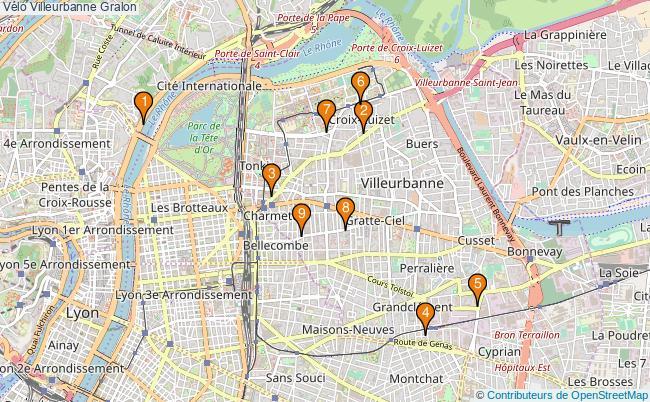 plan Vélo Villeurbanne Associations vélo Villeurbanne : 10 associations
