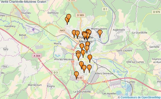 plan Vente Charleville-Mézières Associations Vente Charleville-Mézières : 24 associations