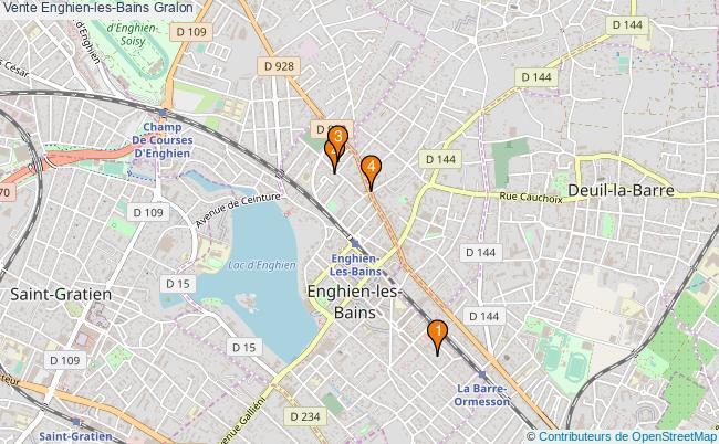plan Vente Enghien-les-Bains Associations Vente Enghien-les-Bains : 4 associations