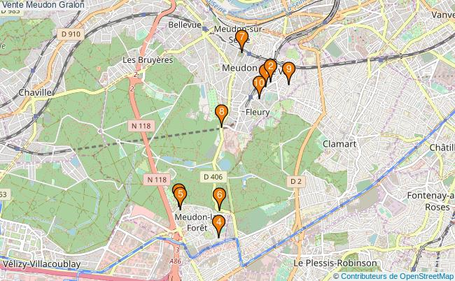 plan Vente Meudon Associations Vente Meudon : 11 associations