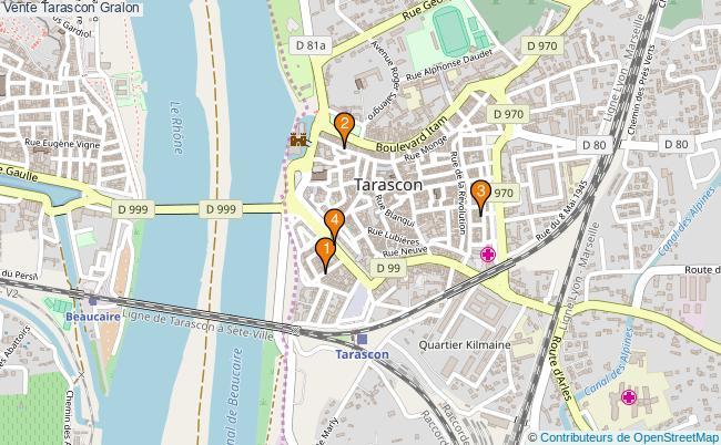 plan Vente Tarascon Associations Vente Tarascon : 5 associations