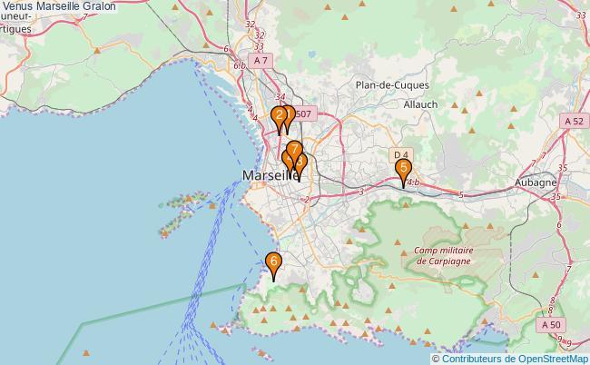 plan Venus Marseille Associations Venus Marseille : 7 associations