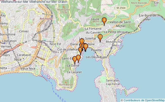 plan Villefranche-sur-Mer Villefranche-sur-Mer Associations Villefranche-sur-Mer Villefranche-sur-Mer : 12 associations