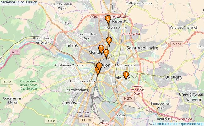 plan Violence Dijon Associations violence Dijon : 9 associations