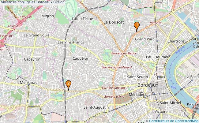 plan Violences conjugales Bordeaux Associations Violences conjugales Bordeaux : 2 associations