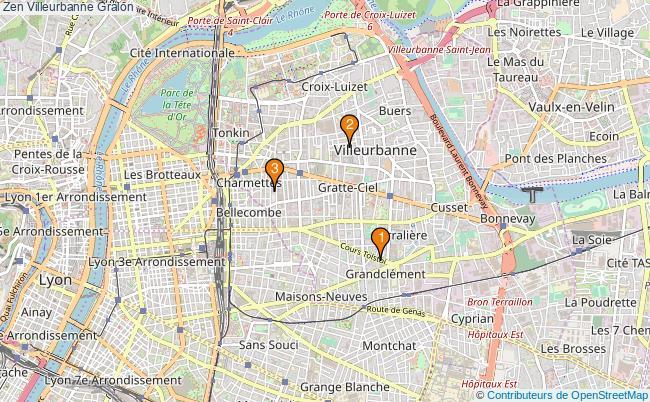 plan Zen Villeurbanne Associations zen Villeurbanne : 3 associations