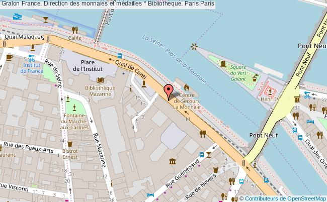 plan association France. Direction Des Monnaies Et Médailles * Bibliothèque. Paris Paris