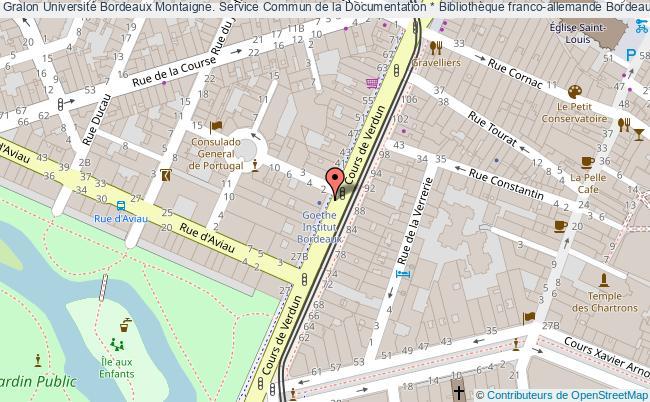 Carte Bibliotheque Bordeaux.Universite Bordeaux Montaigne Service Commun De La