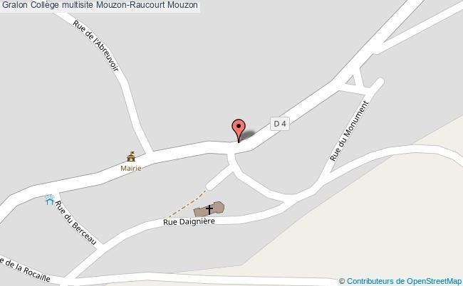 plan Collège Multisite Mouzon-raucourt Mouzon Mouzon