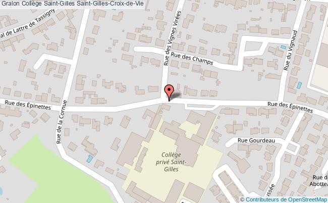 plan Collège Saint-gilles Saint-gilles-croix-de-vie Saint-Gilles-Croix-de-Vie