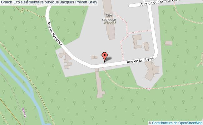 plan École élémentaire Publique Jacques Prévert Briey Briey