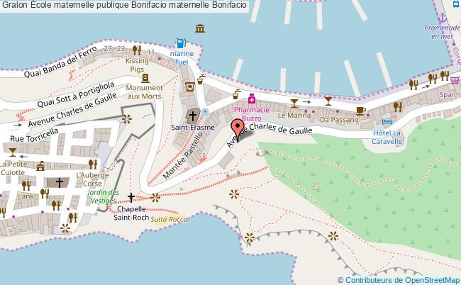 plan École Maternelle Publique Bonifacio Maternelle Bonifacio Bonifacio