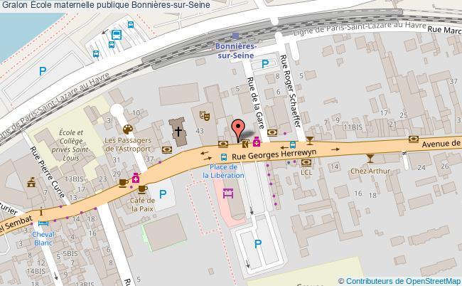 plan École Maternelle Publique Bonnières-sur-seine Bonnières-sur-Seine