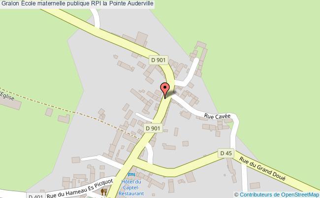plan École Maternelle Publique Rpi La Pointe Auderville Auderville