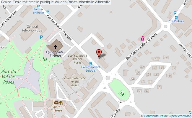plan École Maternelle Publique Val Des Roses-albertville Albertville Albertville