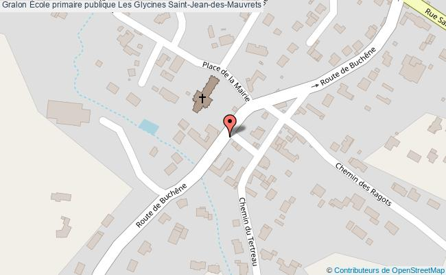 plan École Primaire Publique Les Glycines Saint-jean-des-mauvrets Saint-Jean-des-Mauvrets