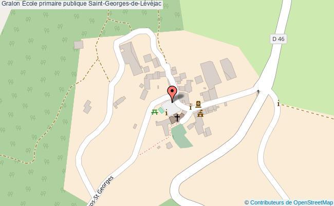 plan École Primaire Publique Saint-georges-de-lévéjac Saint-Georges-de-Lévéjac