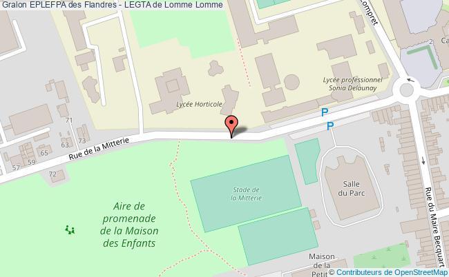 plan Eplefpa Des Flandres - Legta De Lomme Lomme Lomme