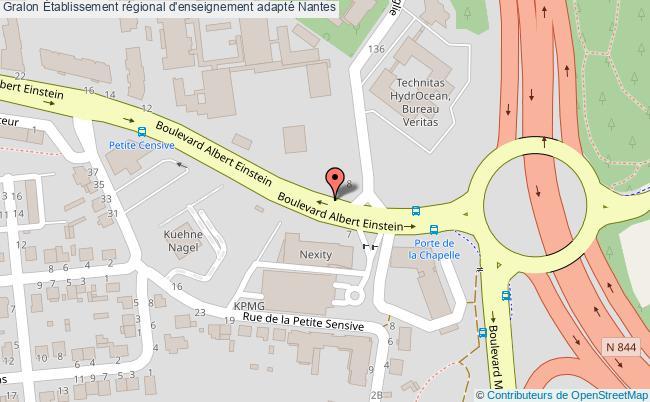 plan Établissement Régional D'enseignement Adapté Nantes Nantes