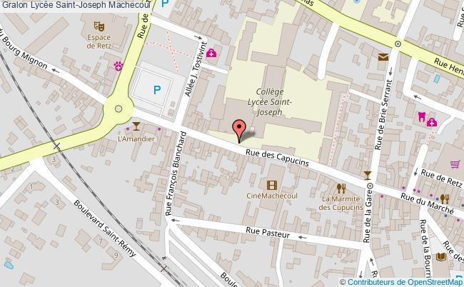 plan Lycée Saint-joseph Machecoul Machecoul