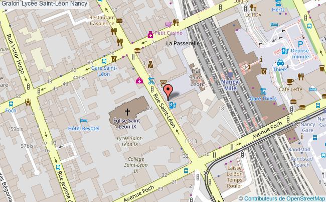 plan Lycée Saint-léon Nancy Nancy