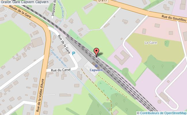 plan gare  Capvern