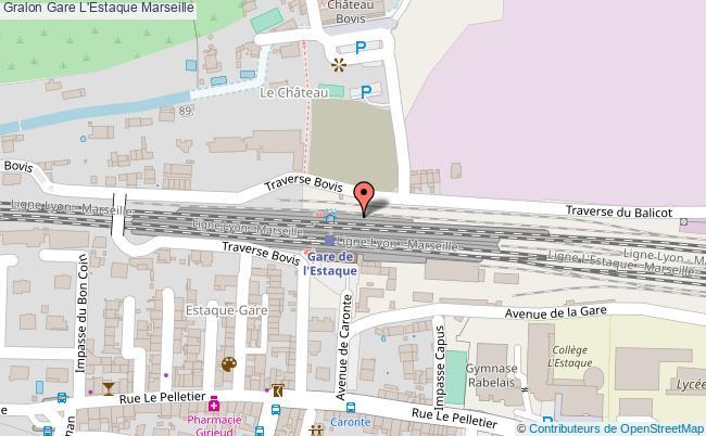 plan gare  Marseille