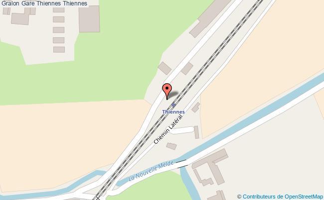 plan gare  Thiennes